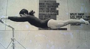 Crawford, Kathy gymnast high school