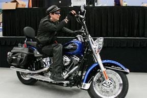 Reid, Laurie motorcycle